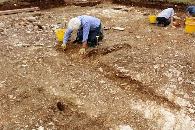 Roman road and possible mine discovered during Cornish dig