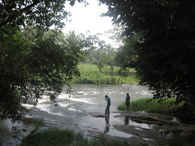 River Kaveri near Young Island resort, Srirangapatna