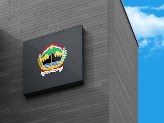 lambang logo provinsi jawa tengah di dinding - kanalmu