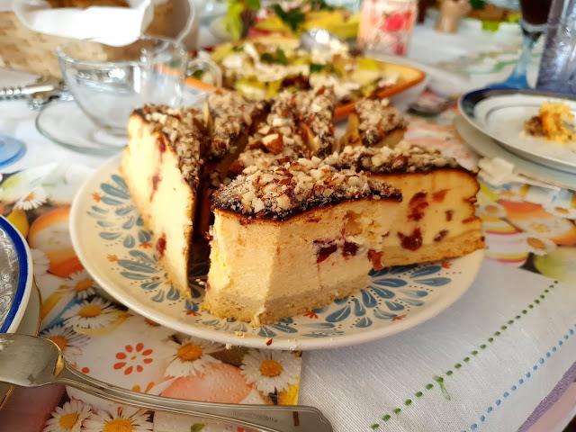 sernik,sernik z wiaderka,łatwy sernik który nie oada, pyszny sernik,z kuchni do kuchni, sernik z żurawiną, łatwy sernik,najlepszy blog kulinarny