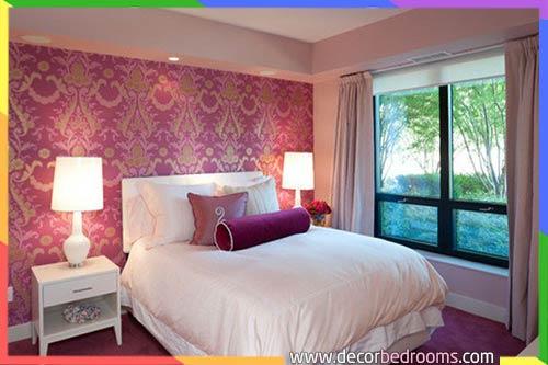 افضل لون غرفة أرجواني نوم للمتزوجين