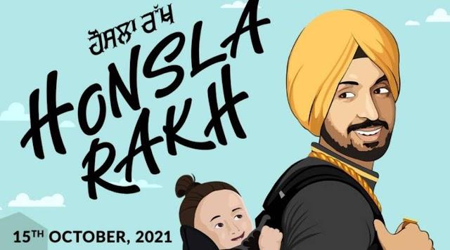 Honsla Rakh का पहला पोस्टर: दिलजीत दोसांझ ने शहनाज़ गिल, सोनम बाजवा के साथ काम किया