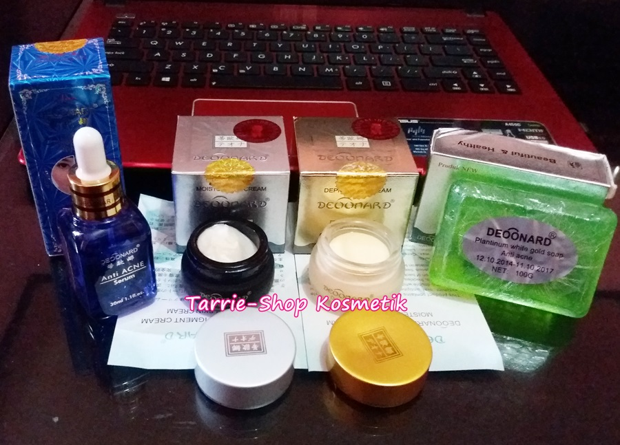 paket deoonard gold serum acne