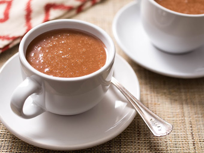 RICH ITALIAN HOT CHOCOLATE  #healthydrink #easyrecipe #cocktail #smoothie