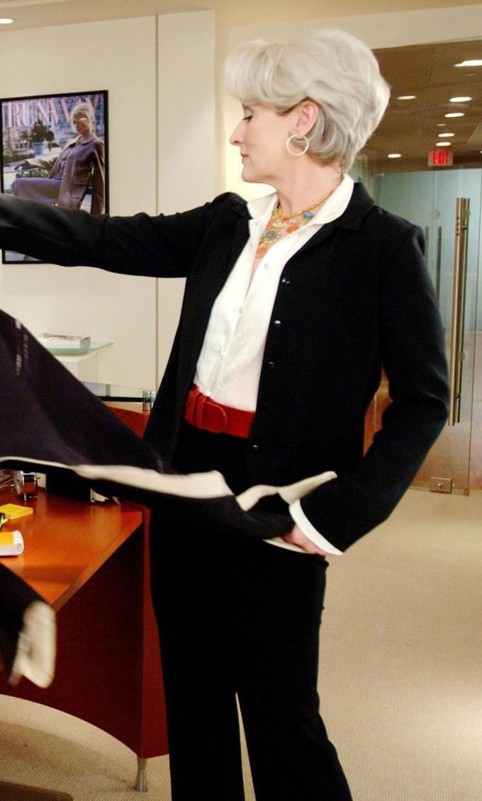Looks de Miranda Priestly em O Diabo Veste Prada