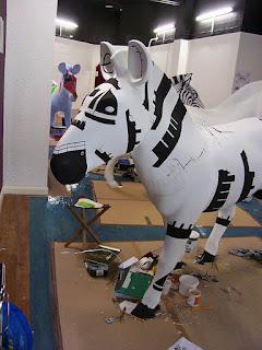 Front of ABP zany zebra by M Davey