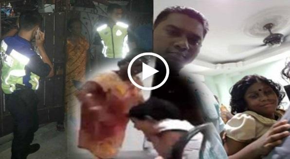 Video Kanak-kanak Didera Hingga Sesak Nafas Gara-gara Tertumpahkan Nasi.