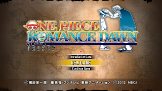 Game One Piece Romance Dawn ISO PSP Download