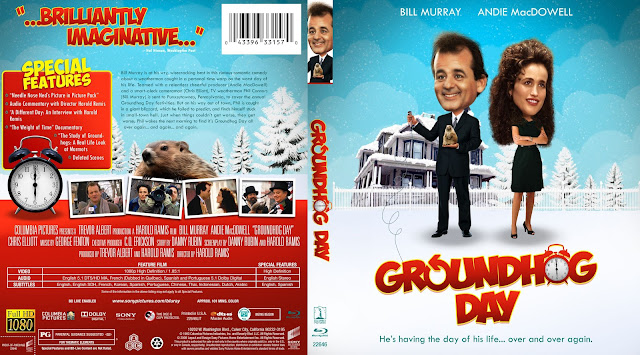 Groundhog Day Bluray Cover