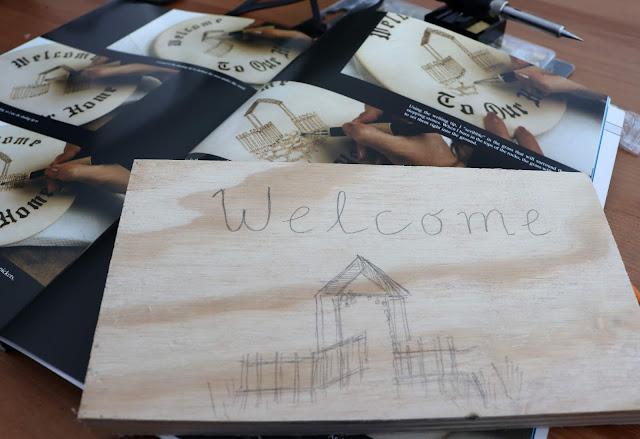 wood burning book