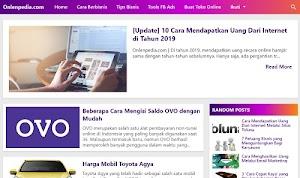 Jasa Content Placement di Blog Onlenpedia / iOSpedia / Klikbanjar / Selebshop