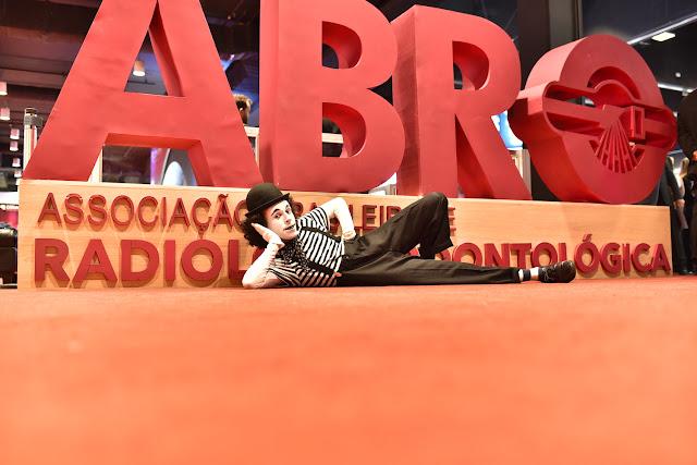 Atração Mímico de Humor e Circo para evento Congresso da Abro, Transamerica Expo Center SP.