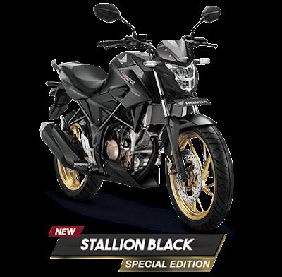 Honda CB150R Stallion Black special edition. Foto : Astra Honda Motor