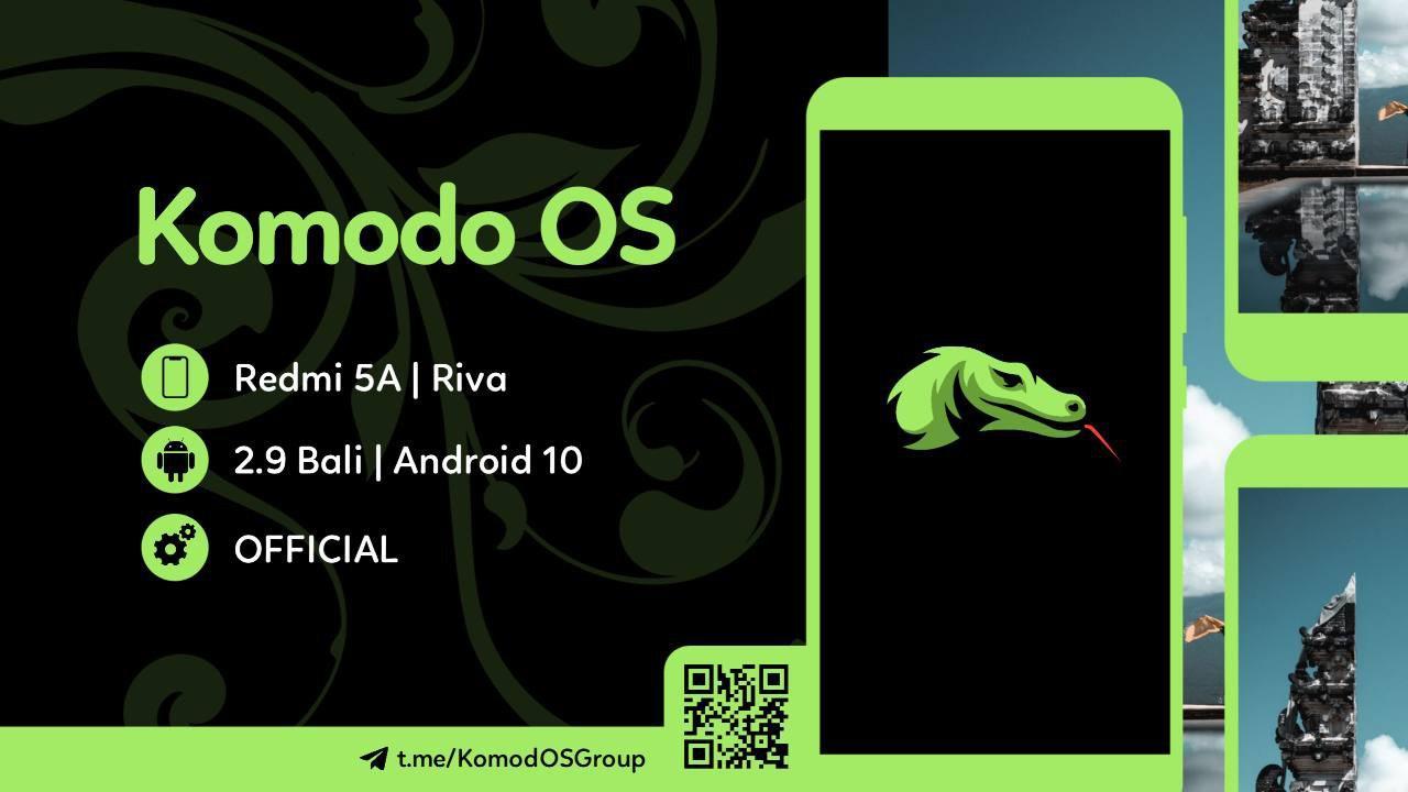 ROM: KomodoOs OFFICIAL v.2.9 BALI Android: 10 Q
