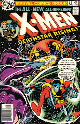 X-Men #99, The Sentinels in space
