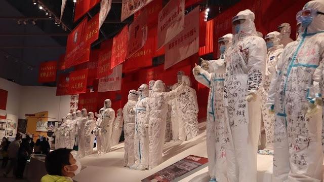 Museum Anti-Covid-19 di Wuhan, China