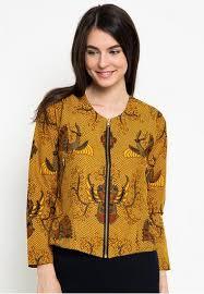 Model Baju Batik Untuk Kerja Lengan Panjang Terbaru