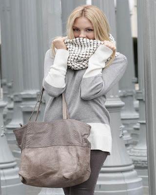 outfit sobrio de invierno