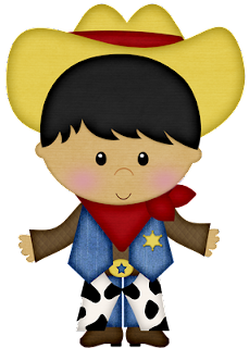 Clipart de Niños Vaqueros.