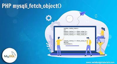 PHP mysqli_fetch_object() Function