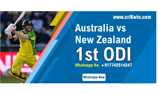 Who will win Today International 1st match AUS vs NZ ODI 2020?