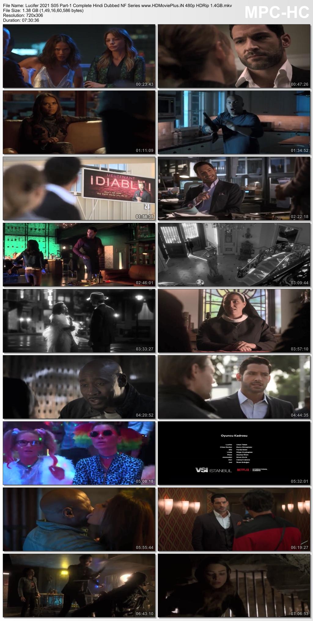 Lucifer 2020 Season 5 Part 1 Hindi
