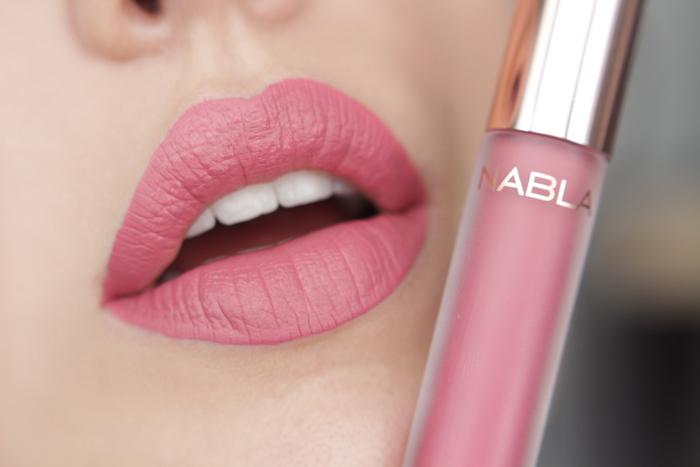 nabla matte liquid lipstick Roses