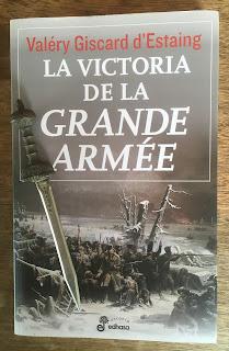 Portada del libro La victoria de la Grande Armée, por Valéry Giscard d'Estaing
