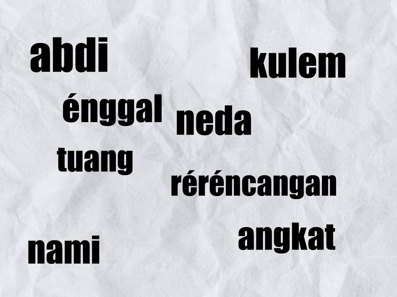 Contoh Penerapan Kalimat Bahasa Sunda Halus Untuk Anak Anak Dan Artinya