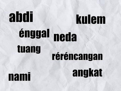 bahasa sunda halus untuk anak anak