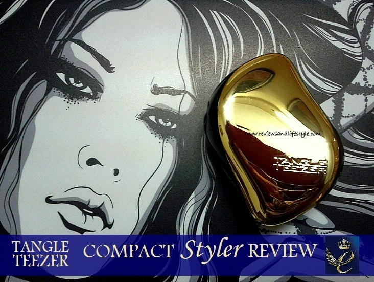 Tangle Teezer Compact Styler Detangling Hairbrush Review India