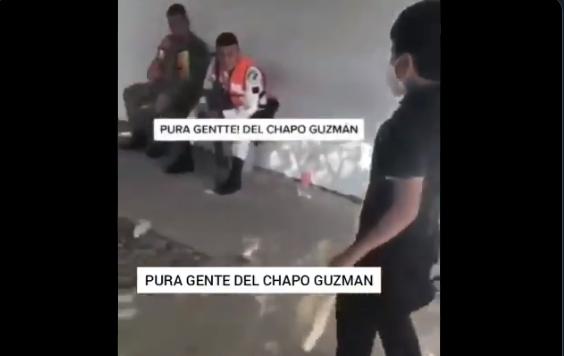 VIDEO.- Pura gente de El Chapo Guzman el mini Sicario del Cártel de Sinaloa que ostenta con Los NINIS y alardea junto a Guardia Nacional y SEDENA
