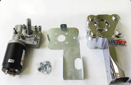 Fleet Discount Parts Bullet Proof Slim Long Shaft Tarp Motor