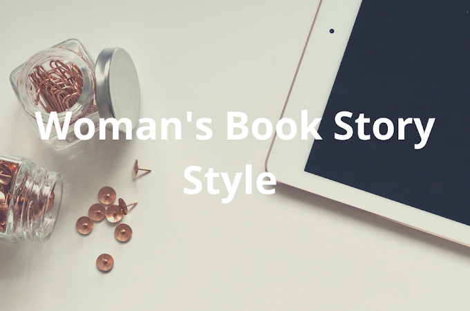 Womans Book Story Blog Style