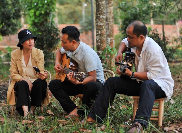 Giao lưu nhạc acoustic đón hoàng hôn