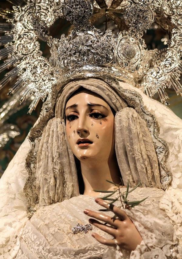Horario e Itinerario Traslado de María Santísima de la Paz y Esperanza para la muestra de Cerrillo. Córdoba 09 de Noviembre del 2019