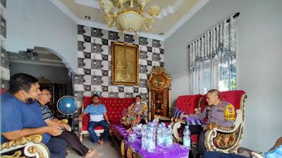 Jalin Silaturahmi Dalam Rangka Kamtibmas, Kapolres Bitung Kunjungi Ketua Dewan Pembina BSM Bitung
