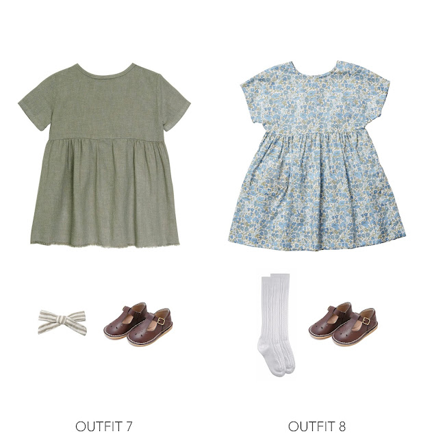 2 vintage inspired easter outfit ideas for girls