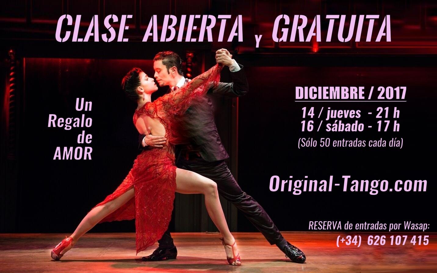 conocer gente por tango