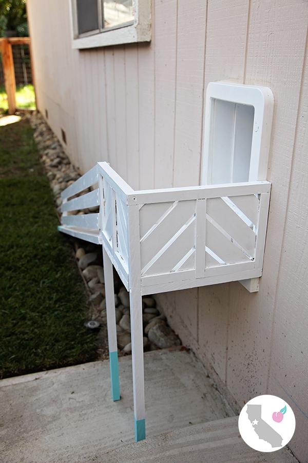 California Peach Diy Dog Door Ramp