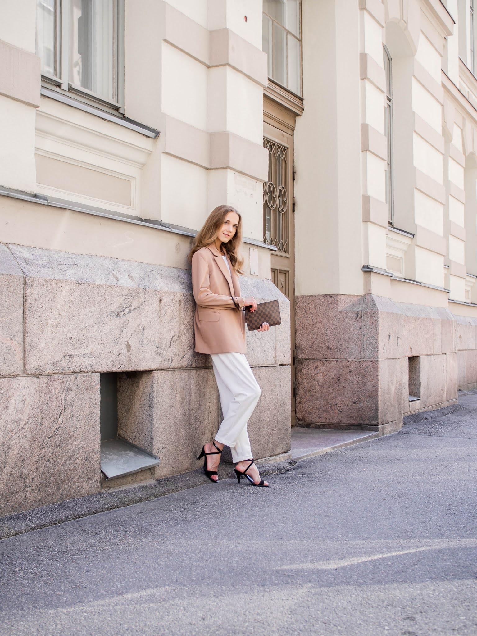 Autumn fashion inspiration, suit outfit - Syysmuoti, pukeutuminen, inspiraatio, jakkupuku
