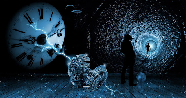Ilustrasi Time Travel (Mesin Waktu)