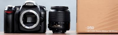 Jual Kamera DSLR 2nd - Nikon D50