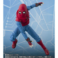 S.H.Figuarts Spider-Man Home Made Suit ver. de Spider-Man Homecoming - Tamashii Nations.