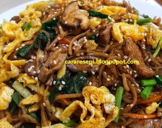 Resepi Japchae Korea Asli Halal