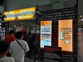 Antusiasme Masyarakat di Acara Big Bad Wolf Book Sale Yogyakarta 2019