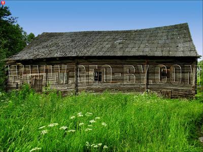 Рубежевичи. Развалины водяной мельницы