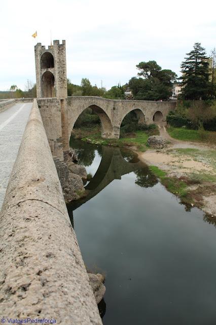 Besalú, la Garrotxa, Catalunya, Catalunya medieval