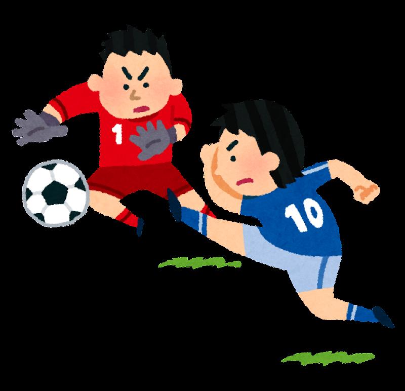「フリー素材イラストサッカー」の画像検索結果