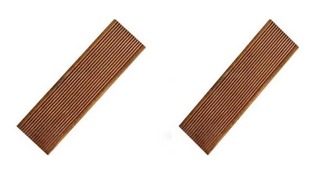 Lantai kayu outdoor untuk dermaga
